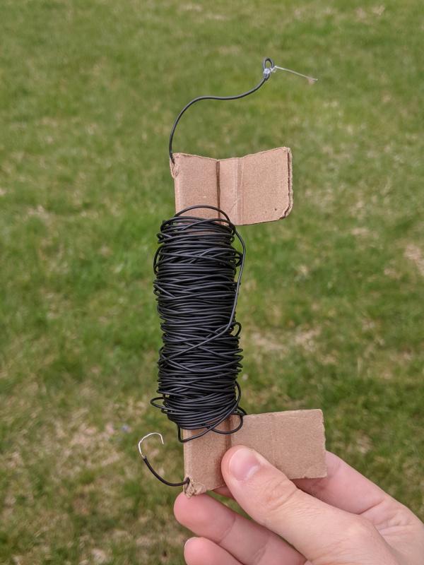 El cable que uso para el radiador