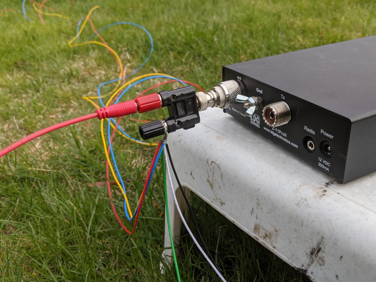Conexiones del radiador y radiales al acoplador